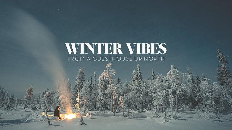 video voyage laponie winter vibes